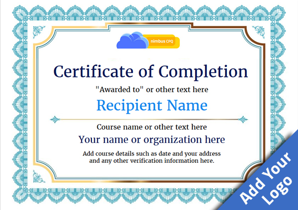 practical completion certificate template jct - certificate of completion free quality printable