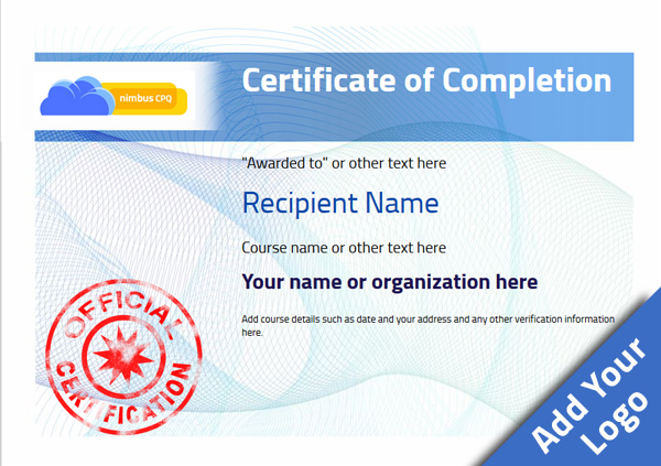 certificate-of-completion-template-award-modern-style-3-blue-stamp Image