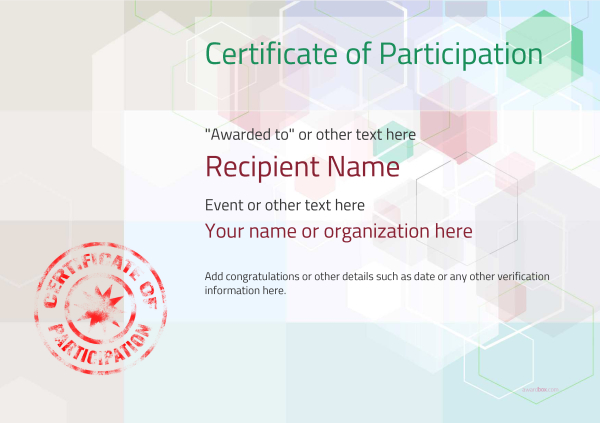 certificate-of-participation-template-award-modern-style-5-default-stamp Image