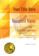 participant basketball certificate template award Image