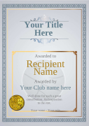 recognition award basketball certificate template with medal Image