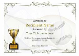 vintage-2-baseball-trophy-yellow Image