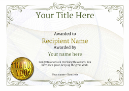 Vintage2 Default_blank Thank Image  Employee Appreciation Certificate Template Free