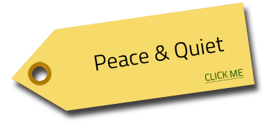 peace quiet tag Image